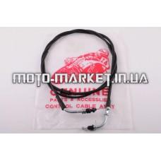 Трос газа   4T GY6 50   (гайка-пластинка)