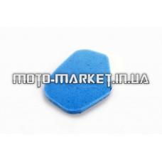 Элемент воздушного фильтра   Yamaha APRIO   (поролон с пропиткой)   (синий)   AS
