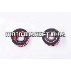 Элемент воздушного фильтра   4T GY6 150   (круглый, бумага)   KM