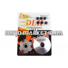 Вариатор передний (тюнинг)   Suzuki AD100   (+палец, ролики 6шт, пружина торкдрайвера)   DLH