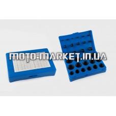 Кольца уплотнительные маслобензостойкие (комплект 404 шт, 7-53 mm)   QHK
