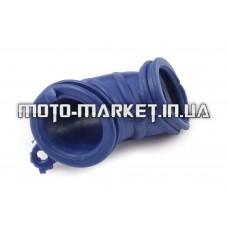 Патрубок воздушного фильтра   Yamaha JOG   (синий)   KOMATCU