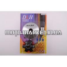 Вариатор передний (тюнинг)   4T GY6 150   (ролики латунь 9шт, палец, пружины сцепления)   DLH