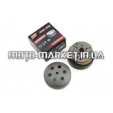 Вариатор задний   4T GY6 50, Honda DIO AF34   (с барабаном)   HAO JUE   (mod:A)