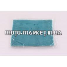 Элемент воздушного фильтра   заготовка 200х300mm   (поролон с пропиткой)   (зеленый)