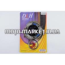 Колодки сцепления (тюнинг)   4T GY6 50, Honda DIO ZX   (регулеровочные пружины)   DLH