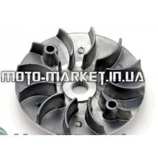 Крыльчатка неподвижной щеки вариатора   4T GY6 125/150   AMG