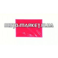 Элемент воздушного фильтра   заготовка 200х300mm   (поролон с пропиткой)   (красный)   CJl