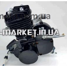 Двигатель   Веломотор   (80cc, голый, + стартер)   (черный)   EVO