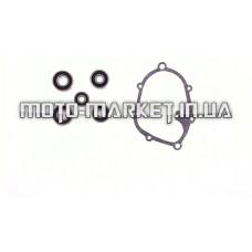 Ремкомплект редуктора   Yamaha JOG SA36/39   (прокладка+подшипники  5шт)   AS