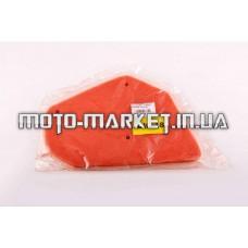 Элемент воздушного фильтра   Honda DIO AF18   (поролон с пропиткой)   (красный)   AS