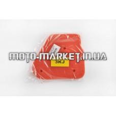 Элемент воздушного фильтра   Yamaha JOG 3KJ   (поролон с пропиткой)   (красный)   AS