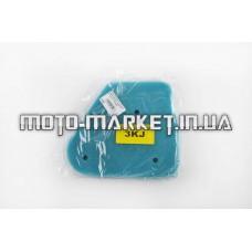 Элемент воздушного фильтра   Yamaha JOG 3KJ   (поролон с пропиткой)   (зеленый)   AS
