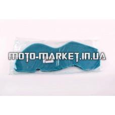 Элемент воздушного фильтра   Suzuki LETS 4   (поролон с пропиткой)   (зеленый)   AS