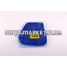 Элемент воздушного фильтра   Yamaha JOG 5KN   (поролон с пропиткой)   (синий)   AS