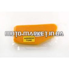Элемент воздушного фильтра   Suzuki ADDRESS TUNE   (поролон с пропиткой)   (желтый)   AS