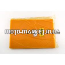 Элемент воздушного фильтра   заготовка 200х300mm   (поролон с пропиткой)   (желтый)   AS