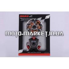 Вариатор передний (тюнинг)   Honda DIO AF18   (медно-граф. втулка, ролики латунь)   KOSO