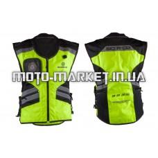 Защита жилет    (size:M, свето отражающий, mod:JK32)   SCOYCO