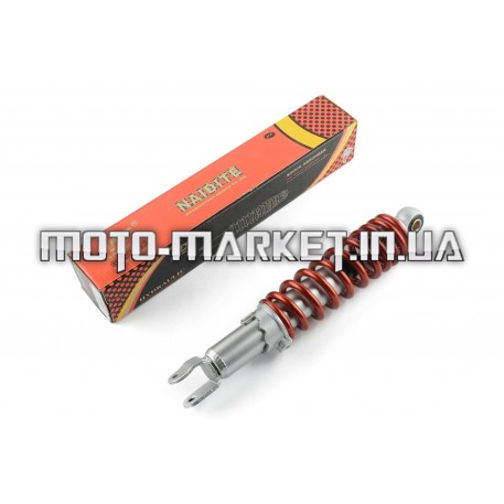 Амортизатор   GY6, DIO, LEAD   280mm, регулируемый   (красный)   NDT