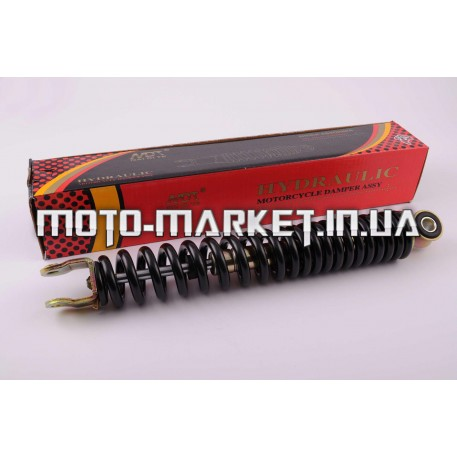 Амортизатор   GY6, DIO, LEAD   290mm, стандартный   (черный)   NDT