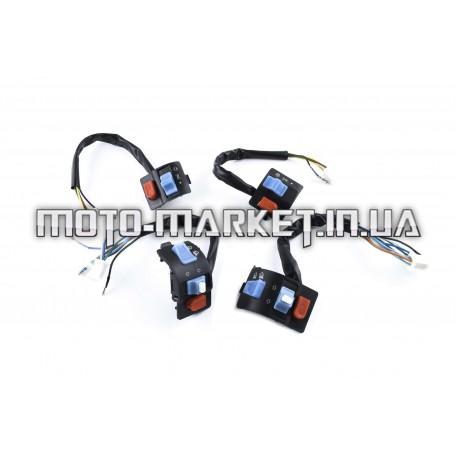 Блоки кнопок руля (пара)   Navigator QT50-B   (черные)   XVP