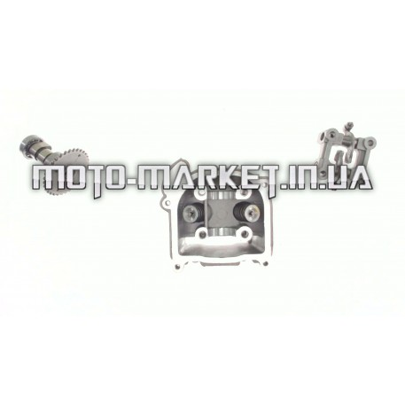 Головка цилиндра   4T GY6 100   (Ø50)   (в сборе, без крышки)   KOMATCU   (mod.A)