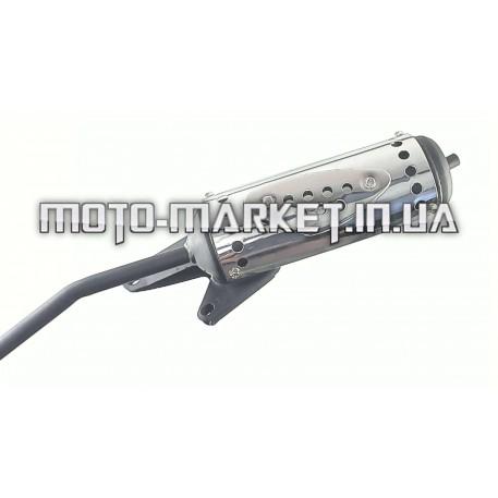 Глушитель   4T GY6 50   NAVIGATOR   (в сборе)   ST