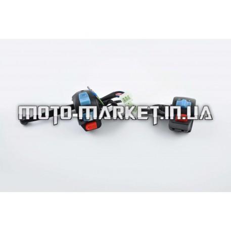 Блоки кнопок руля (пара)   4T GY6 50   (диск/барабан, крепление, рычаг)