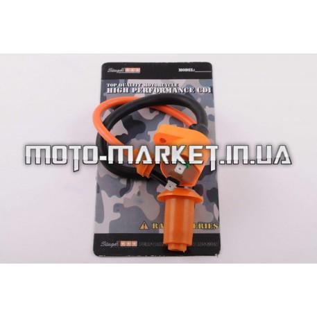 Катушка зажигания (тюнинг)   Honda DIO    (оранжевая)   STAGE-9