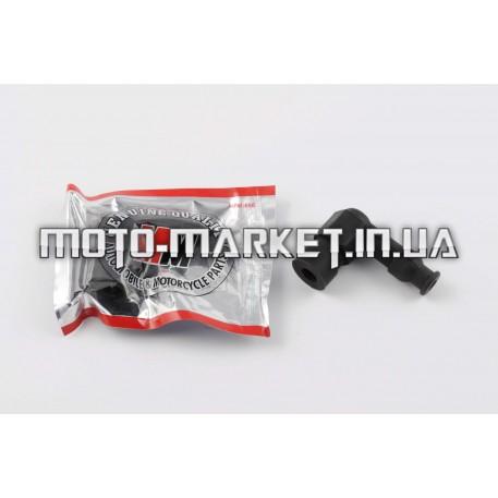 Насвечник 90* тюнинговый (черный)