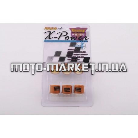 Ролики вариатора   Suzuki   17*12   8,0г   (Тайвань)   KOSO